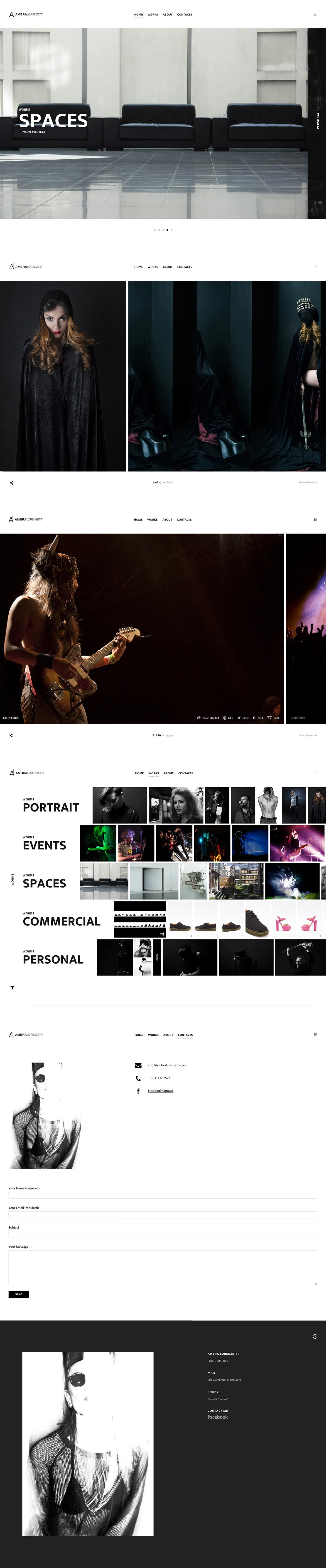 Creazione Siti Web Ambra Lorenzetti Portfolio sito web Kaistudio Web Agency Realizzazione siti web ed e-commerce. Posizionamento sui motori di ricerca e web marketing Realizzazione loghi e grafiche