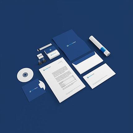 Biglietti da Visita Smart Habit Portfolio square Kaistudio Web Agency Firenze Realizzazione siti web ed e-commerce. Posizionamento sui motori di ricerca e web marketing Realizzazione loghi e grafiche