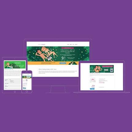Siti Web Promozionali Tiscali Portfolio square Kaistudio Web Agency Firenze Realizzazione siti web Firenze ed e-commerce. Posizionamento sui motori di ricerca e web marketing Realizzazione loghi e grafiche